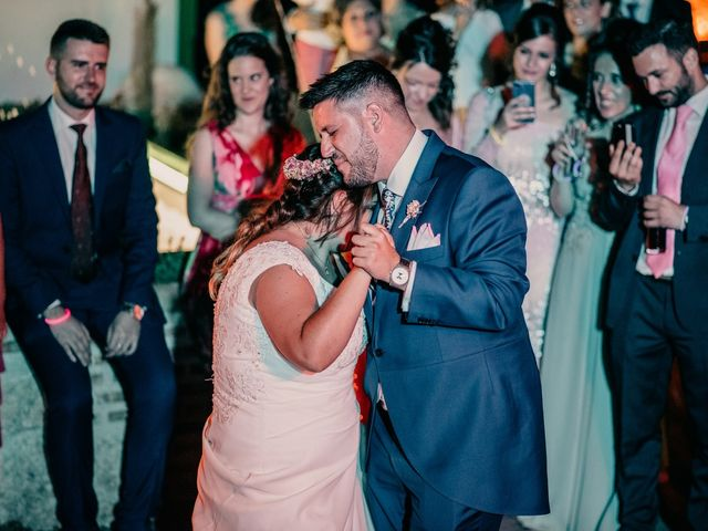 La boda de Adrián y María en Ballesteros De Calatrava, Ciudad Real 136