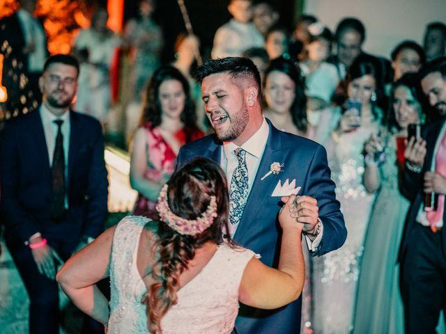 La boda de Adrián y María en Ballesteros De Calatrava, Ciudad Real 137