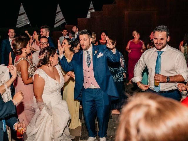 La boda de Adrián y María en Ballesteros De Calatrava, Ciudad Real 145