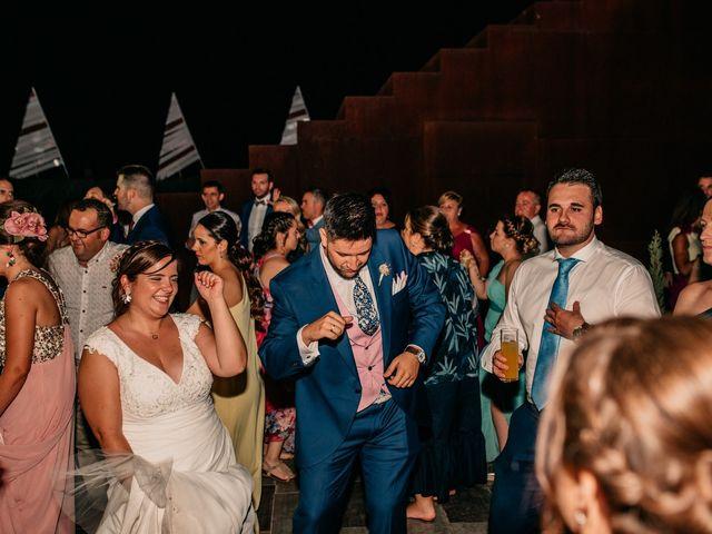 La boda de Adrián y María en Ballesteros De Calatrava, Ciudad Real 146