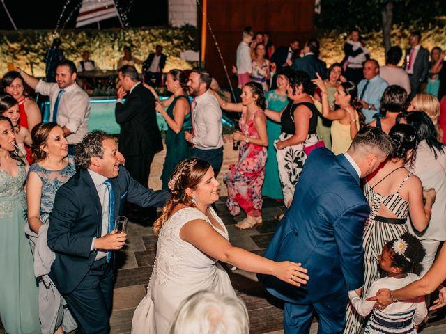 La boda de Adrián y María en Ballesteros De Calatrava, Ciudad Real 149