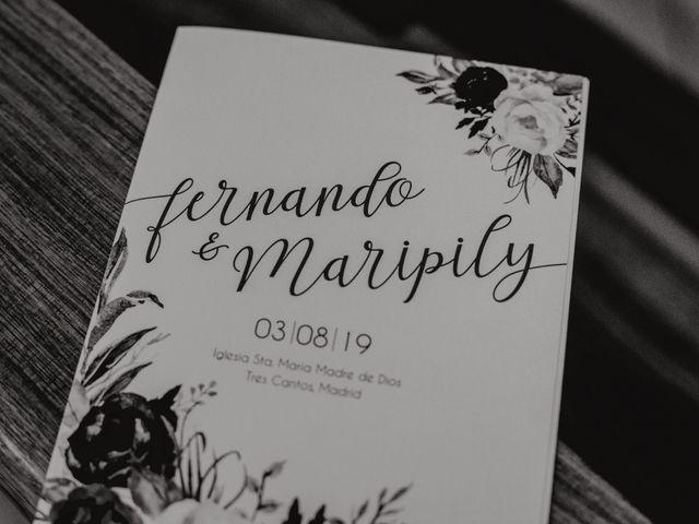 La boda de Fernando y Maripily en San Sebastian De Los Reyes, Madrid 104