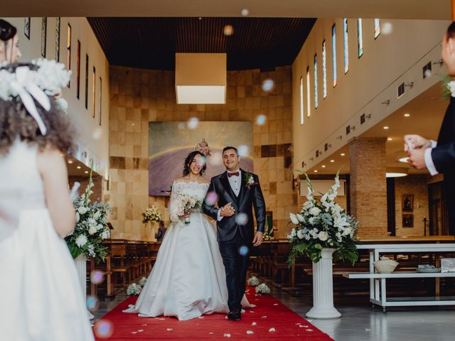La boda de Fernando y Maripily en San Sebastian De Los Reyes, Madrid 149