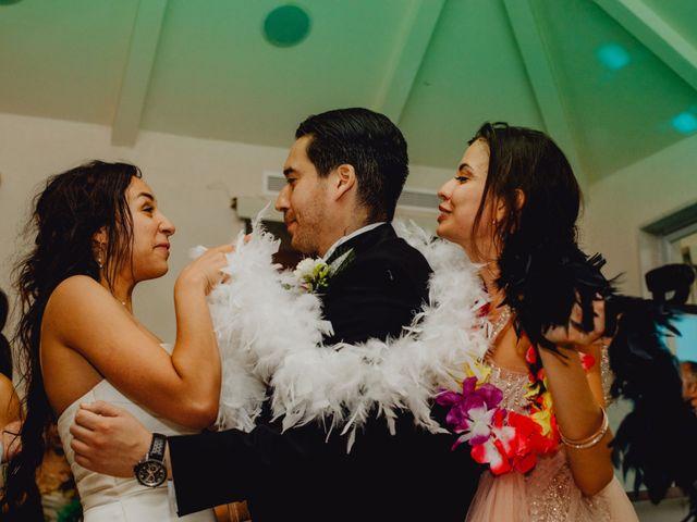 La boda de Fernando y Maripily en San Sebastian De Los Reyes, Madrid 293