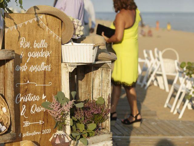 La boda de Quim y Cristina en Calella, Barcelona 19