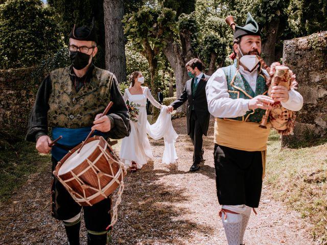 La boda de Javi y Paula en Malleza, Asturias 1