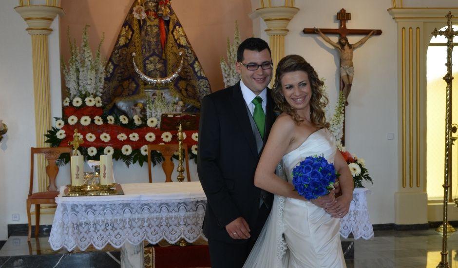 La boda de DAVID y MARIA JOSÉ en Santomera, Murcia