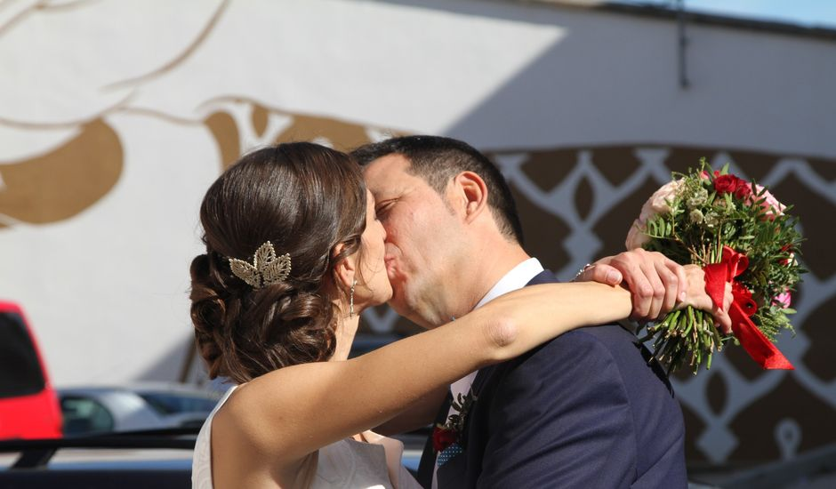 La boda de Angel  y Carmen  en Nava De La Asuncion, Segovia