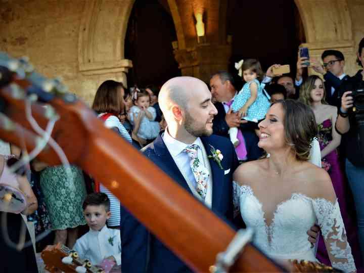 La boda de Guiomar y Marcos
