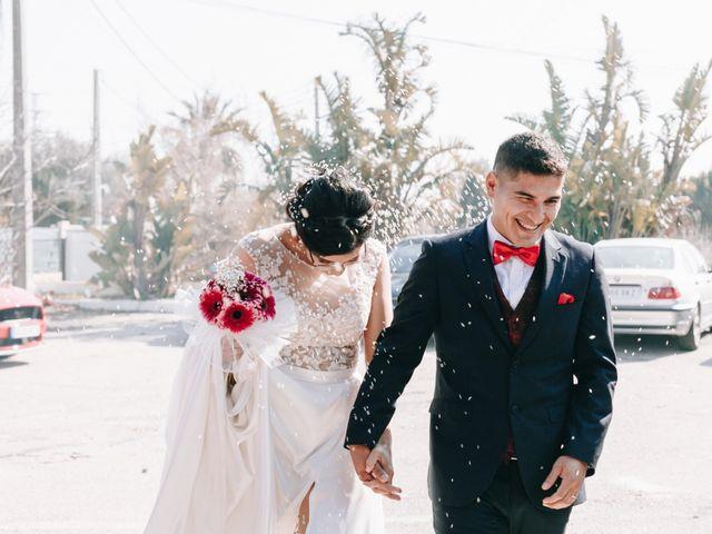 La boda de Valeska y César