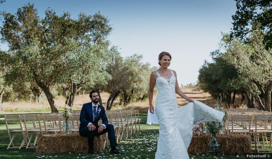 La boda de Josep y Christina en La Bisbal d'Empordà, Girona