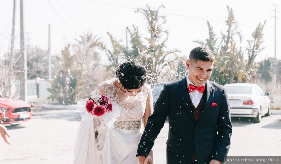 La boda de César y Valeska en Oliva, Valencia