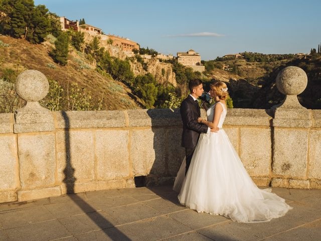 La boda de Josué y Sara en Toledo, Toledo 40