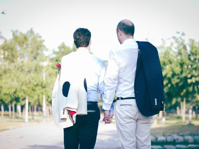 La boda de Alvaro y Sam en Madrid, Madrid 13