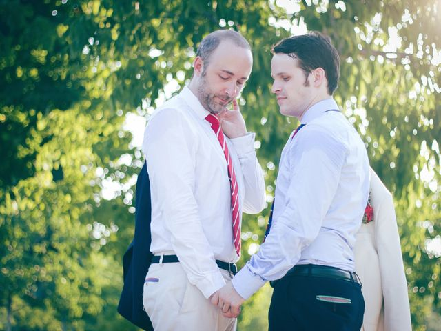 La boda de Alvaro y Sam en Madrid, Madrid 15