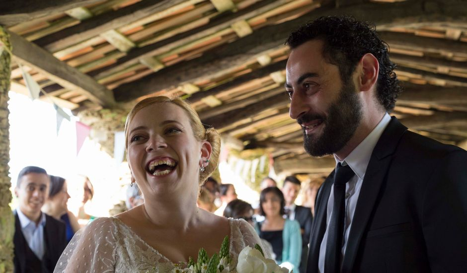 La boda de Toni y Pati en Viladavil (Santa Maria), A Coruña