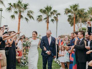 La boda de Andrea y Chiqui