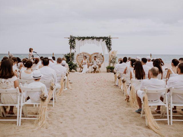 La boda de Walter  y Isa  en Malgrat De Mar, Barcelona 17