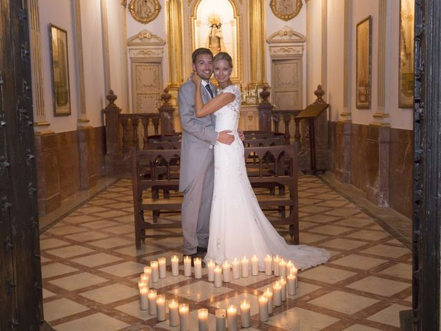 La boda de Damian y Kasia en Adzaneta De Albaida, Valencia 12