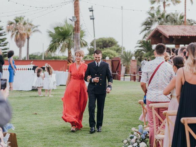La boda de Chiqui y Andrea en Roquetas De Mar, Almería 44