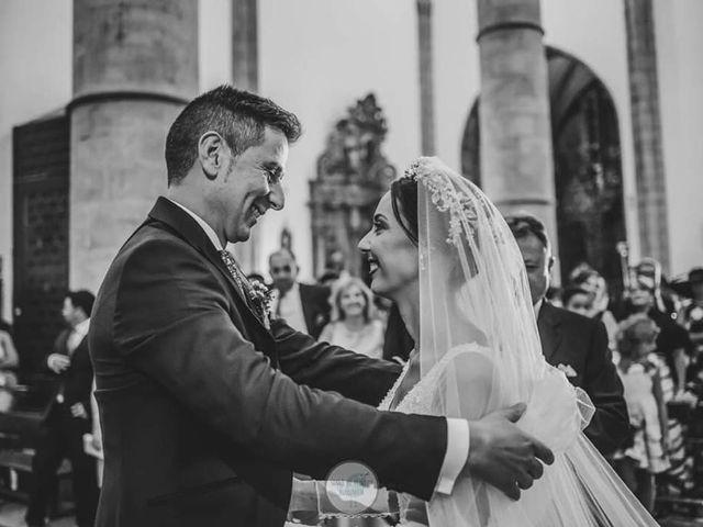 La boda de Mario y Ana en Los Santos De Maimona, Badajoz 12