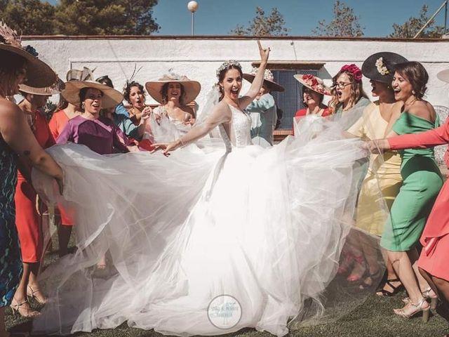 La boda de Mario y Ana en Los Santos De Maimona, Badajoz 14