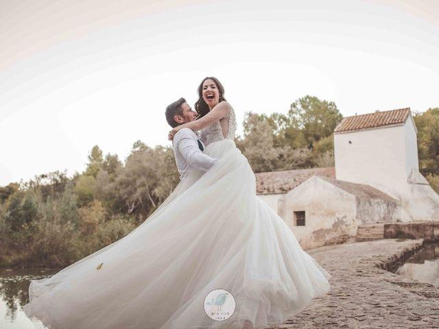 La boda de Mario y Ana en Los Santos De Maimona, Badajoz 19