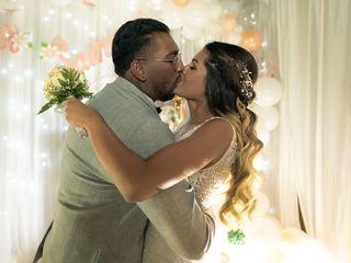 La boda de Samuel y Leidy