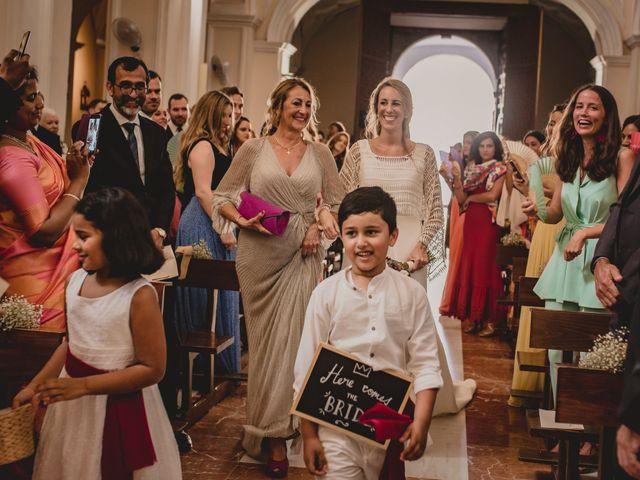 La boda de Sebastian y Isabel en Málaga, Málaga 44