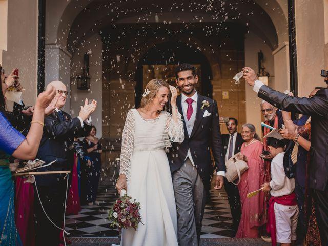 La boda de Sebastian y Isabel en Málaga, Málaga 52