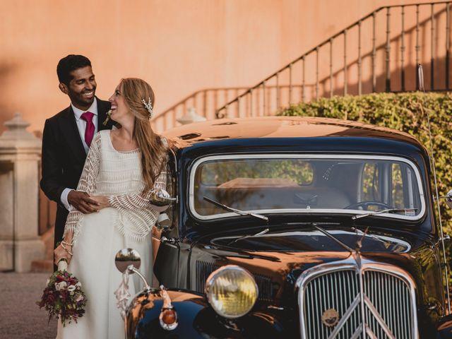 La boda de Sebastian y Isabel en Málaga, Málaga 1