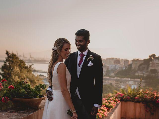 La boda de Sebastian y Isabel en Málaga, Málaga 63