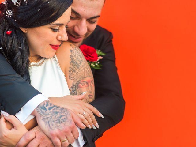 La boda de Melani y Ginés