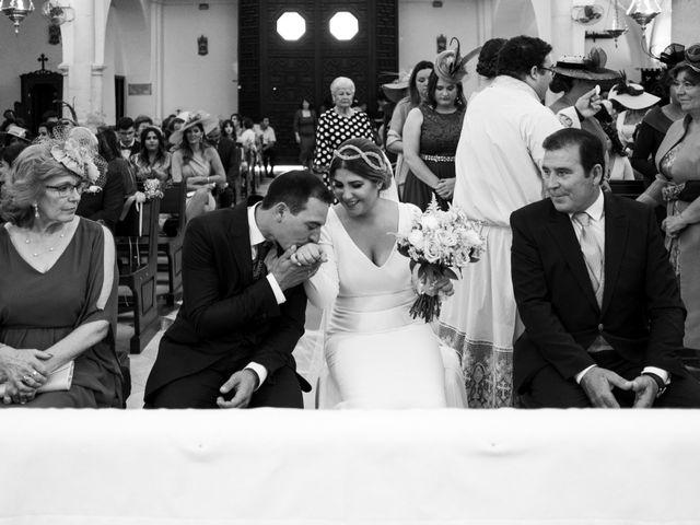 La boda de César y Beatriz en La Carlota, Córdoba 44