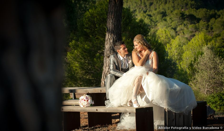 La boda de Javier y Jenifer en El Bruc, Barcelona