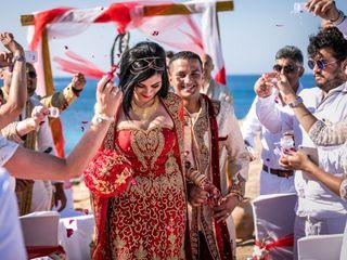 La boda de Naz y Ish