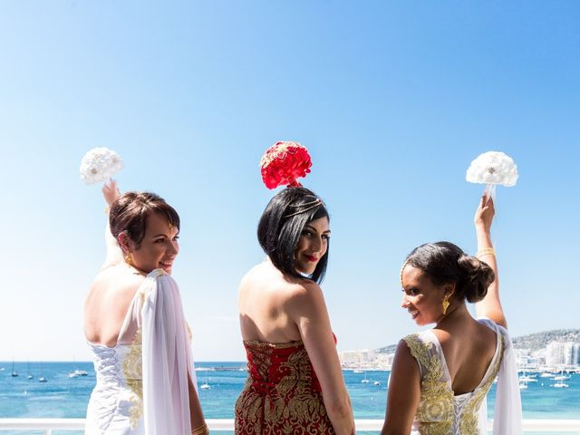 La boda de Ish y Naz en Cala Conta, Islas Baleares 17
