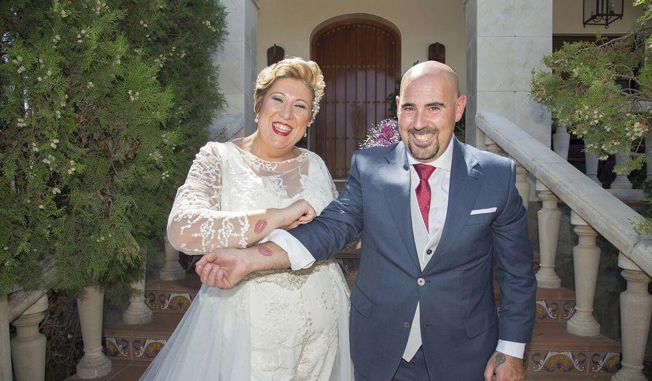La boda de Jose y Eva en Lora De Estepa, Sevilla