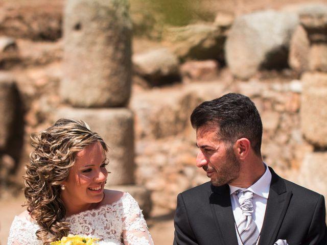 La boda de Alberto y Estíbaliz en Mérida, Badajoz 45