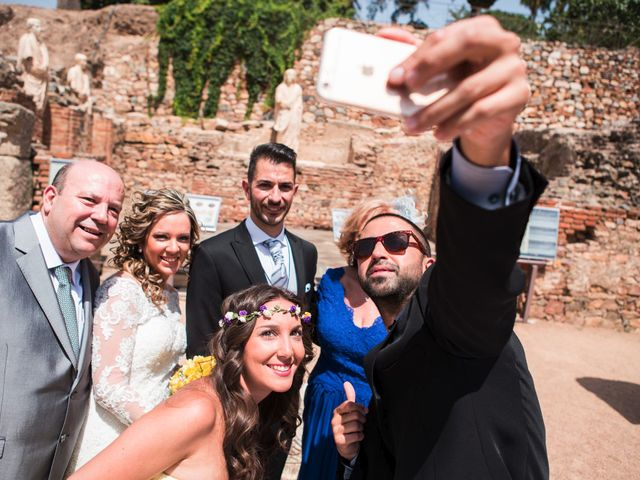 La boda de Alberto y Estíbaliz en Mérida, Badajoz 52