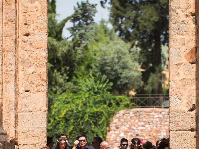 La boda de Alberto y Estíbaliz en Mérida, Badajoz 53