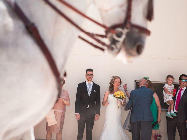 La boda de Alberto y Estíbaliz en Mérida, Badajoz 55