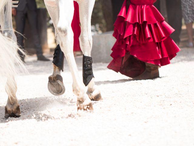 La boda de Alberto y Estíbaliz en Mérida, Badajoz 56