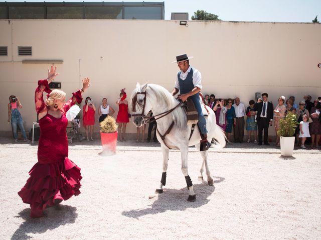 La boda de Alberto y Estíbaliz en Mérida, Badajoz 57