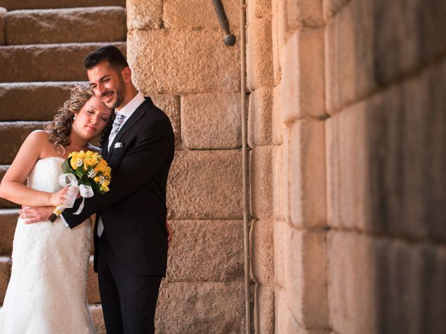 La boda de Alberto y Estíbaliz en Mérida, Badajoz 61