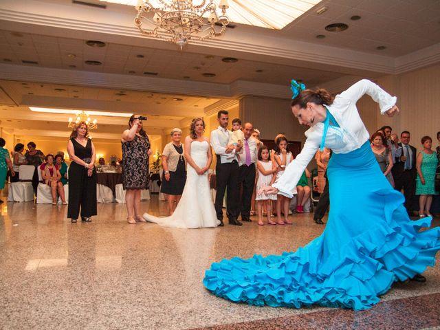 La boda de Alberto y Estíbaliz en Mérida, Badajoz 71