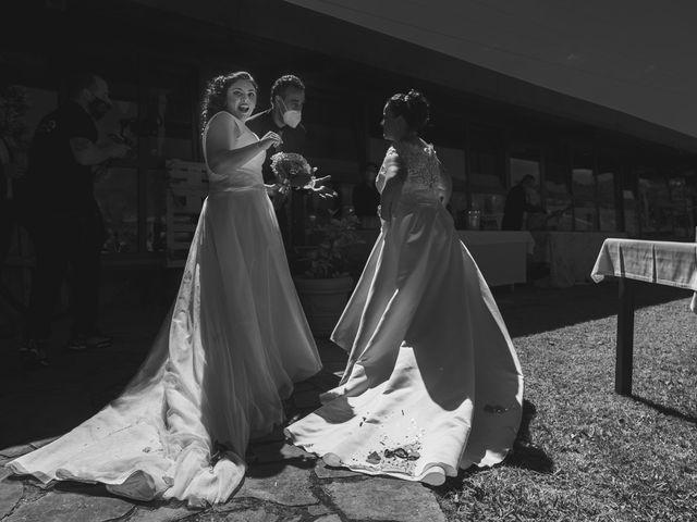 La boda de Fernanda y Maria en Naveces, Asturias 28