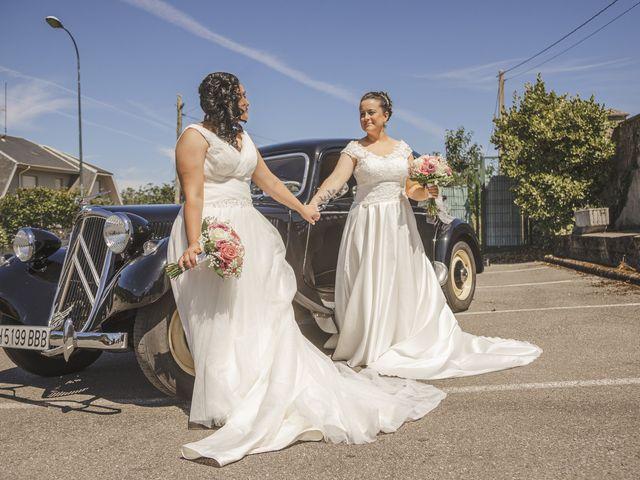 La boda de Fernanda y Maria en Naveces, Asturias 31