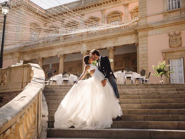 La boda de Natasha y James