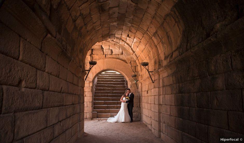 La boda de Alberto y Estíbaliz en Mérida, Badajoz